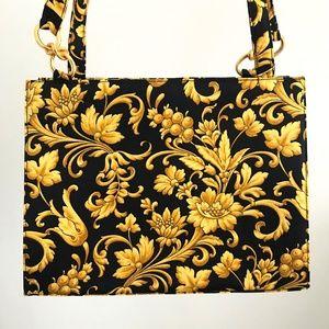 NWT! Vintage Versace Fabric Purse